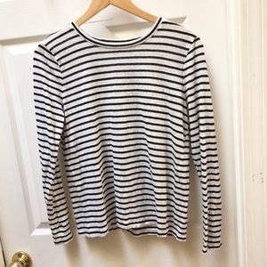 Eileen Fisher Classic Striped Tee